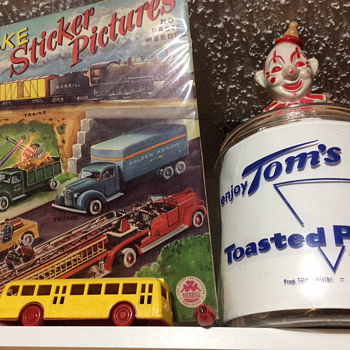 Bought for you bY Standard Oil - Toys