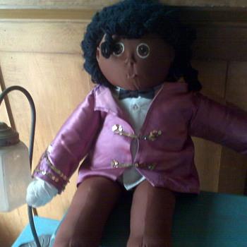 Original Michael Jackson Soft Bodied Doll - 1985 - Music Memorabilia