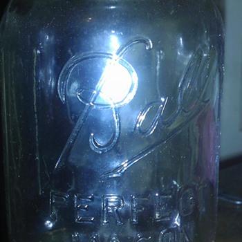 Dozens of Ball Perfect Mason Jars - Bottles