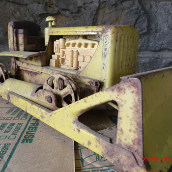 One of my best buys Doepke Caterpillar D-6 Dozer for $5 at Yard Sale Spring '12 - Toys