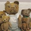 My Early Mohair Straw Stuffed Bears