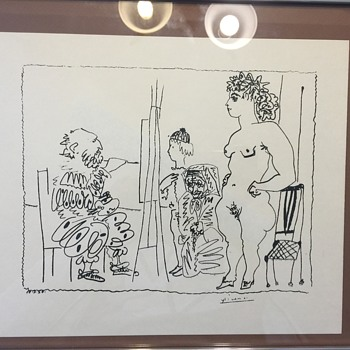 Picasso drawing - Fine Art