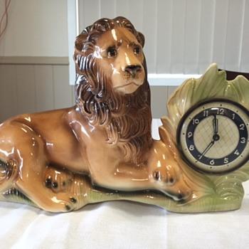 Jema Holland Sideboard Lion (469) Part 2 - Clocks
