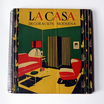 """La casa. Decoración moderna"" book, 1952 - Books"