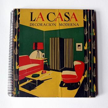 """""""La casa. Decoración moderna"""" book, 1952"""