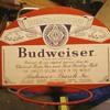Budweiser Basketball Backboard full size new never used 1971