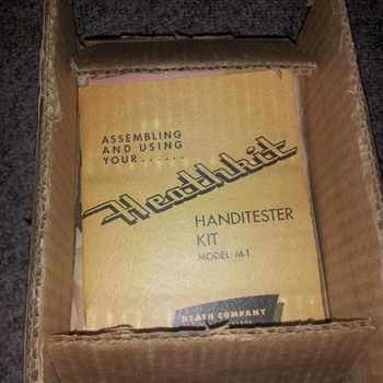 Original Heathkit TC-2 Tube tester and Handi tester..unassembled