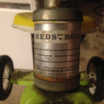 Hedstrom tricycle year and any information.