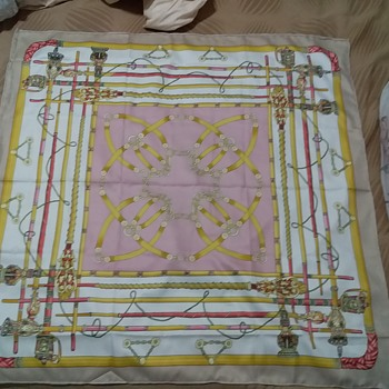 Hermes silk scarf real or fake? - Accessories