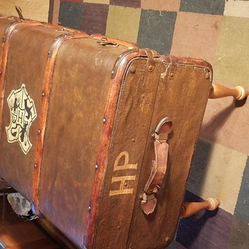 European Bentwood Trunk, Turned Harry Potter Fan Made Replica - Furniture