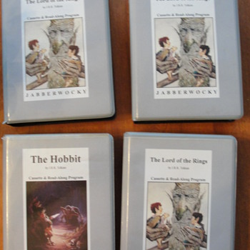 Lord of the Rings casettes - Books