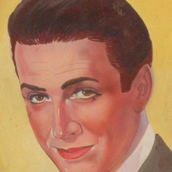 Original 1930s-1940s Baltimore Movie Theatre Lobby Display Portraits by John Kilduff - Fine Art