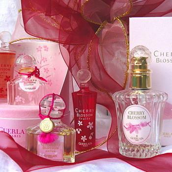 Guerlain Cherry Blossom Mini Bottles - Bottles