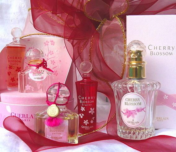 Cherry Blossom BottlesCollectors Mini Weekly Guerlain W2DYe9EHI