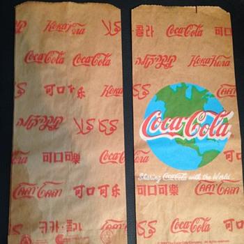 Coca-Cola Paper Bag - Coca-Cola