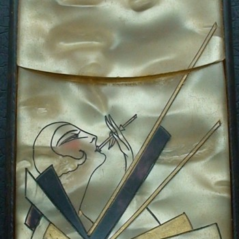 Art Deco Cigarette Holder Tortoise Celluloid - Art Deco