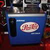 Embossed Pepsi Cola Ideal 55 Slider...Single Dot...10 Cent Chest Machine...With Key...From The Fifties