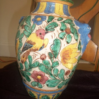 my majolica, marked made in Italy B 1158