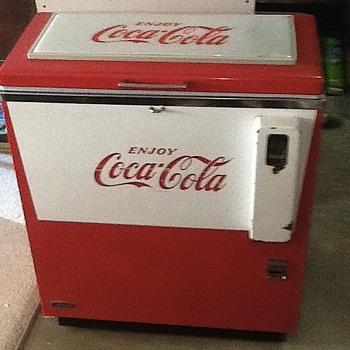 Cornelius Slider Cooler - Coca-Cola