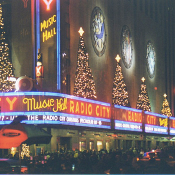 Radio City Music Hall - Art Deco