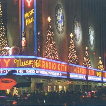 Radio City Music Hall - Art Deco