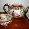 Asian Tea Pot and Tea Cup