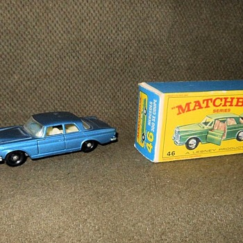 Mini Mercedes Matchbox Monday Mercedes-Benz 300 SE Coupe - Model Cars