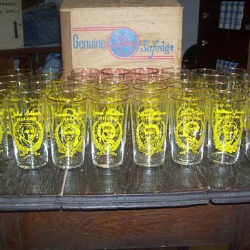 Set of 32 Presidents Glasses - Glassware