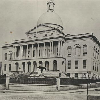 "State House,Boston,Beacon St"" Early XX Century"""" - Photographs"