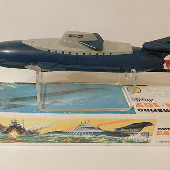SA-107 Battery Powered Submarine - Made in Spain - Toys