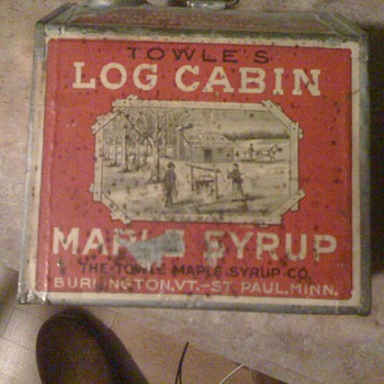 Towel's syrup tin - Advertising