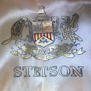 Stetson hat i had for 35 yrs - Hats