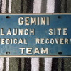 NASA-GEMINI LAUNCH SITE LICENCE PLATE