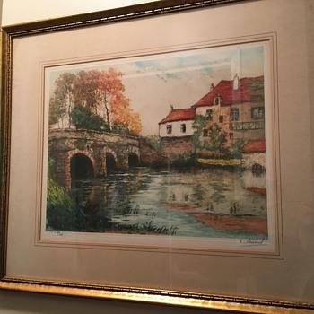 1930's painting - Fine Art