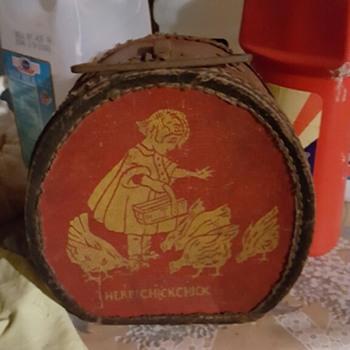 Vintage Doll Hat Box