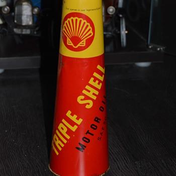 shell can - Petroliana
