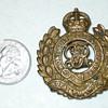 """British Royal Engineers Badge. """"Honi Soit Qui Mal.Y. Pense."""