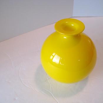 Kastrup Holmegaard ball vase #2 - Art Glass