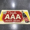 AAA Root beer sign 3ft long