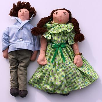 Handmade Dolls from Havana, Cuba - Dolls