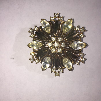 trifari Pat. pending brooch