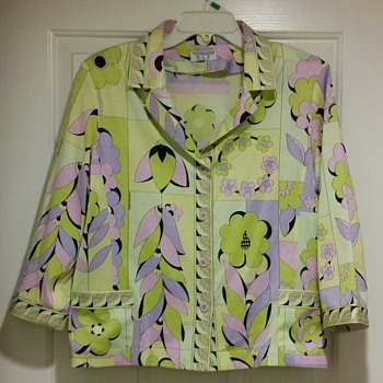 Averardo Bessi Blouse Jacket Vintage Italian - Womens Clothing