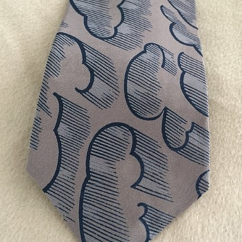 "Stormy Weather Tie ""Images by Guy LaRoche"""