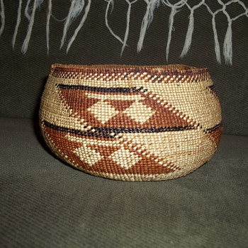 My newest Hupa Basket - Native American
