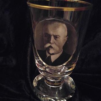 Tomáš Garrigue Masaryk  Glass - Glassware