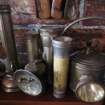 Old  f lashlights - Lamps
