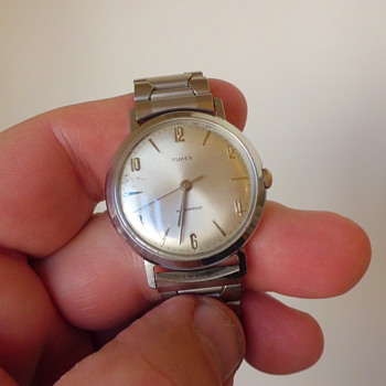 cool old Timex mens wristwatch