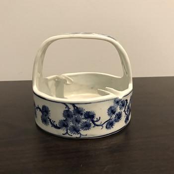 Porcelain ashtray  - Tobacciana
