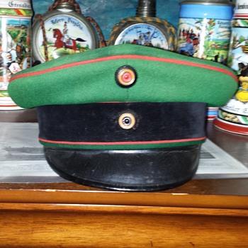 Schirmmütze of the Imperial German Garde Schützen Battalion