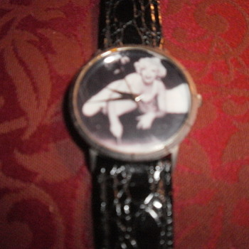 VINTAGE MARILYN MONROE WRIST WATCH  - Wristwatches
